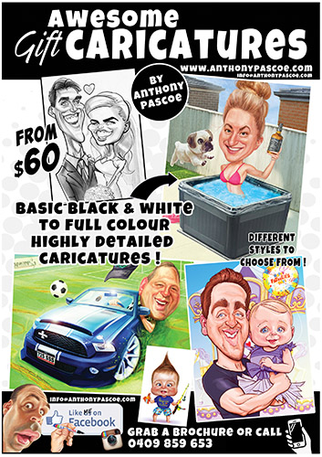 Cartoon Comic Gift Caricatures